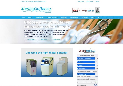 sterling softeners